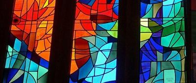 درب ارسی شیشه رنگی