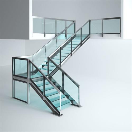 مزایای استفاده از راه پله های شیشه ای
